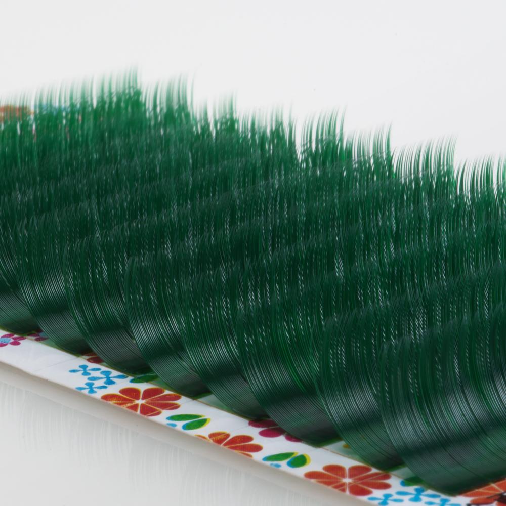 パステルミンク グリーン 0.15mmCカール