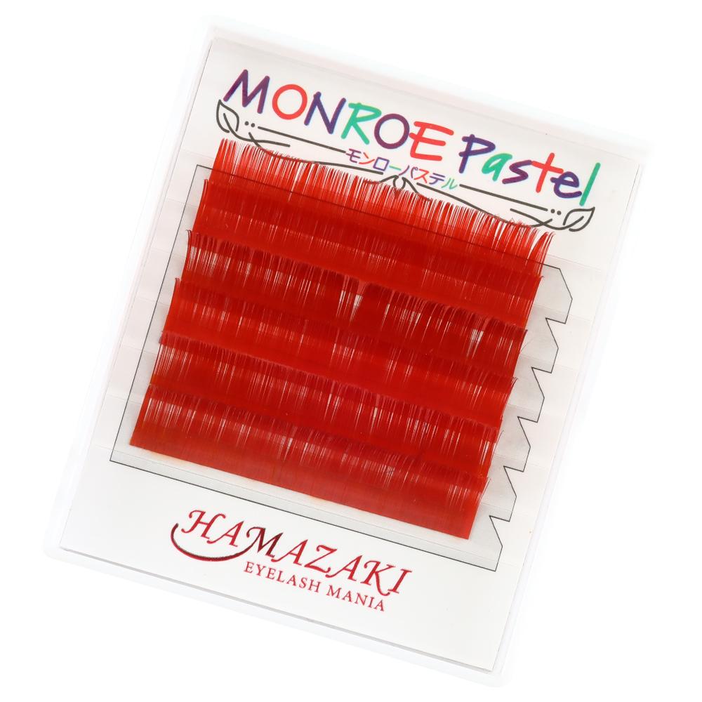 モンローパステル Jカール 赤(1ケース6シート入り)