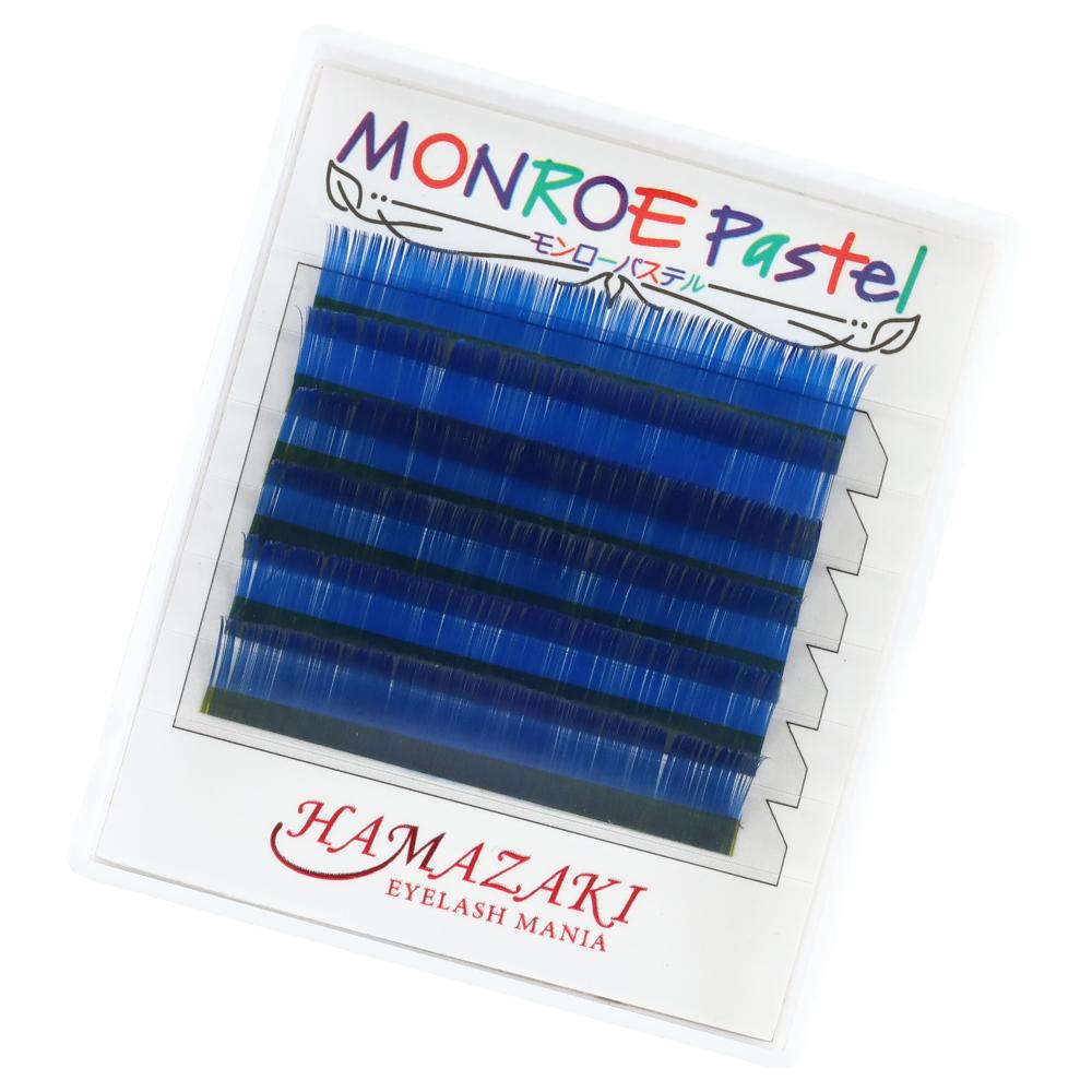モンローパステル Cカール 青(1ケース6シート入り)