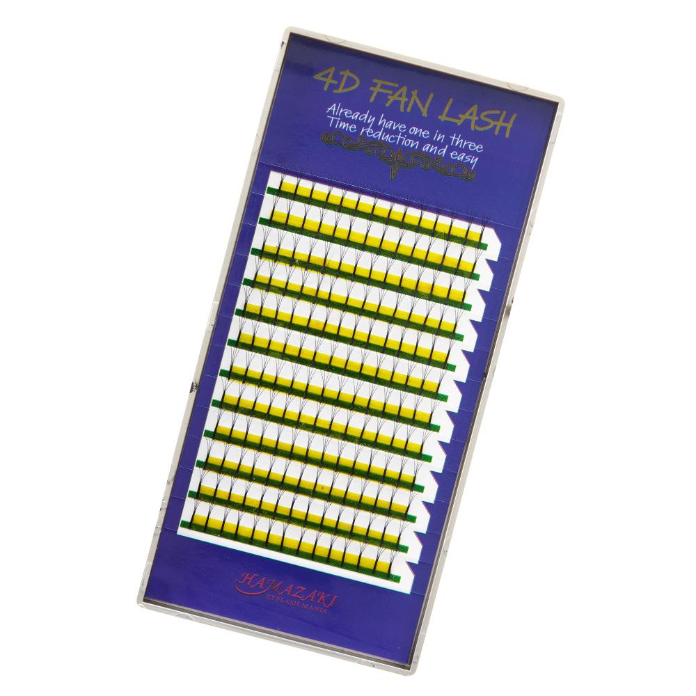 4D FAN LASH Cカール 0.07mm(1ケース12シート入り)