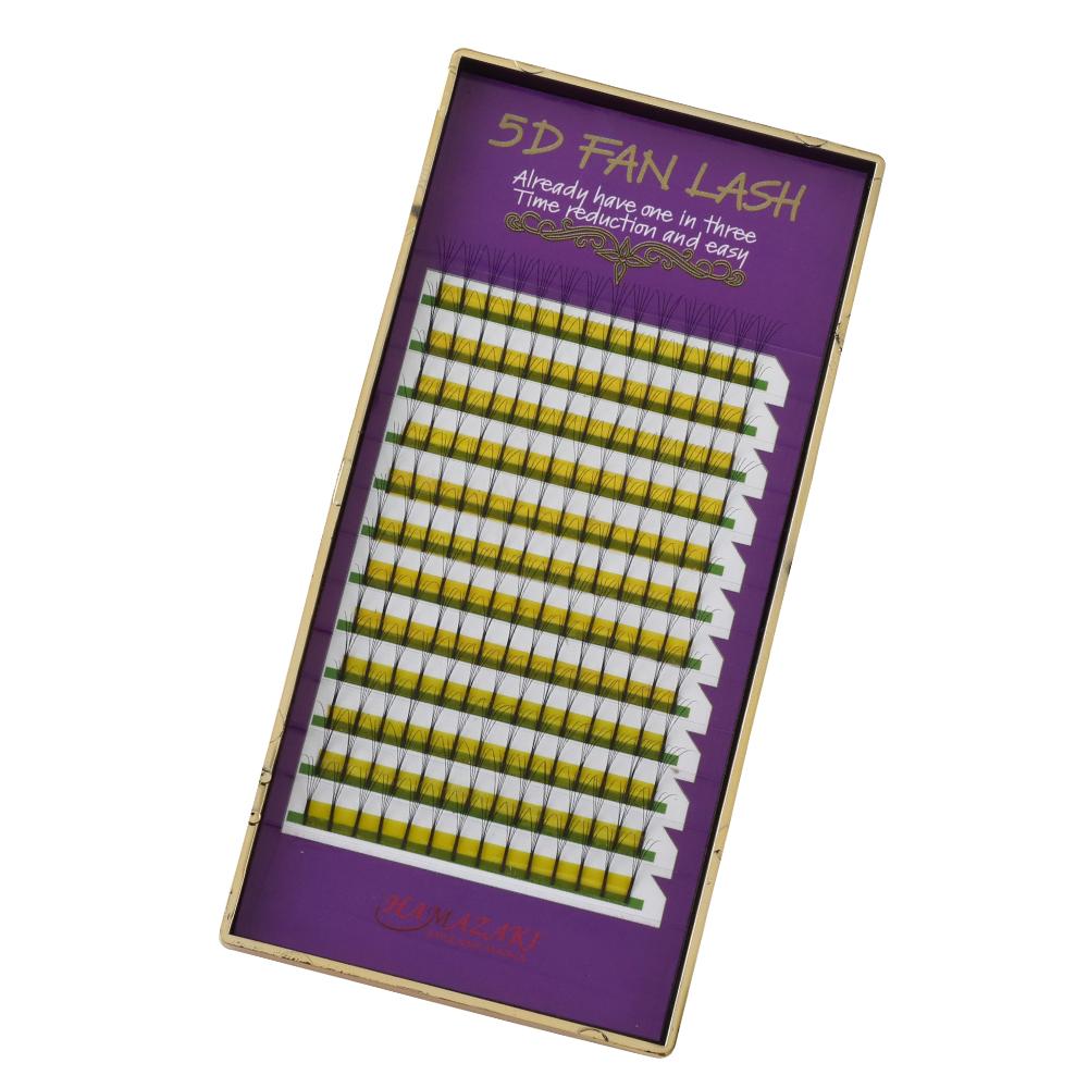 5D FAN LASH Jカール 0.07mm(1ケース12シート入り)
