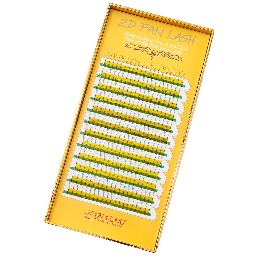 2D FAN LASH Cカール 0.07mm(1ケース12シート入り)