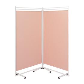 抗菌衝立スクリーン アミカルW ピンク【別送】