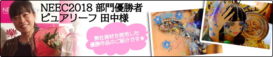 NEEC2018 部門優勝者 ピュアリーフ 田中様